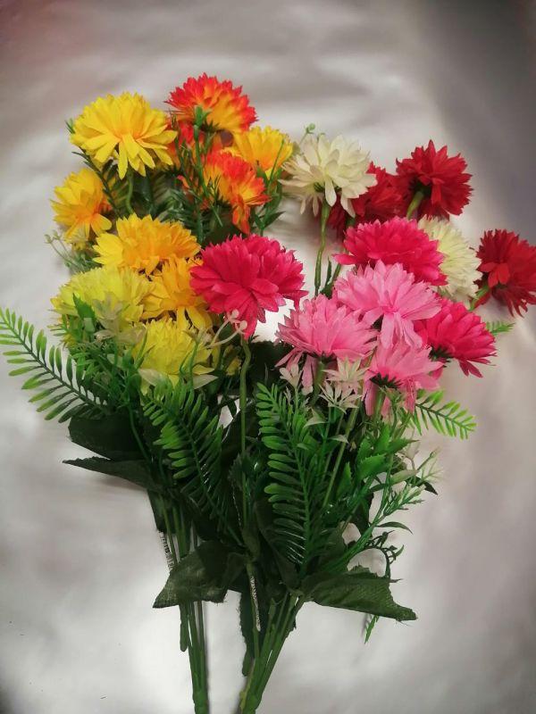 Букетик астр, высота 30см, цветы разные